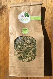 No 4 grünes Salz: guerande meersalz (bockshornklee, ingwer, kräuter)